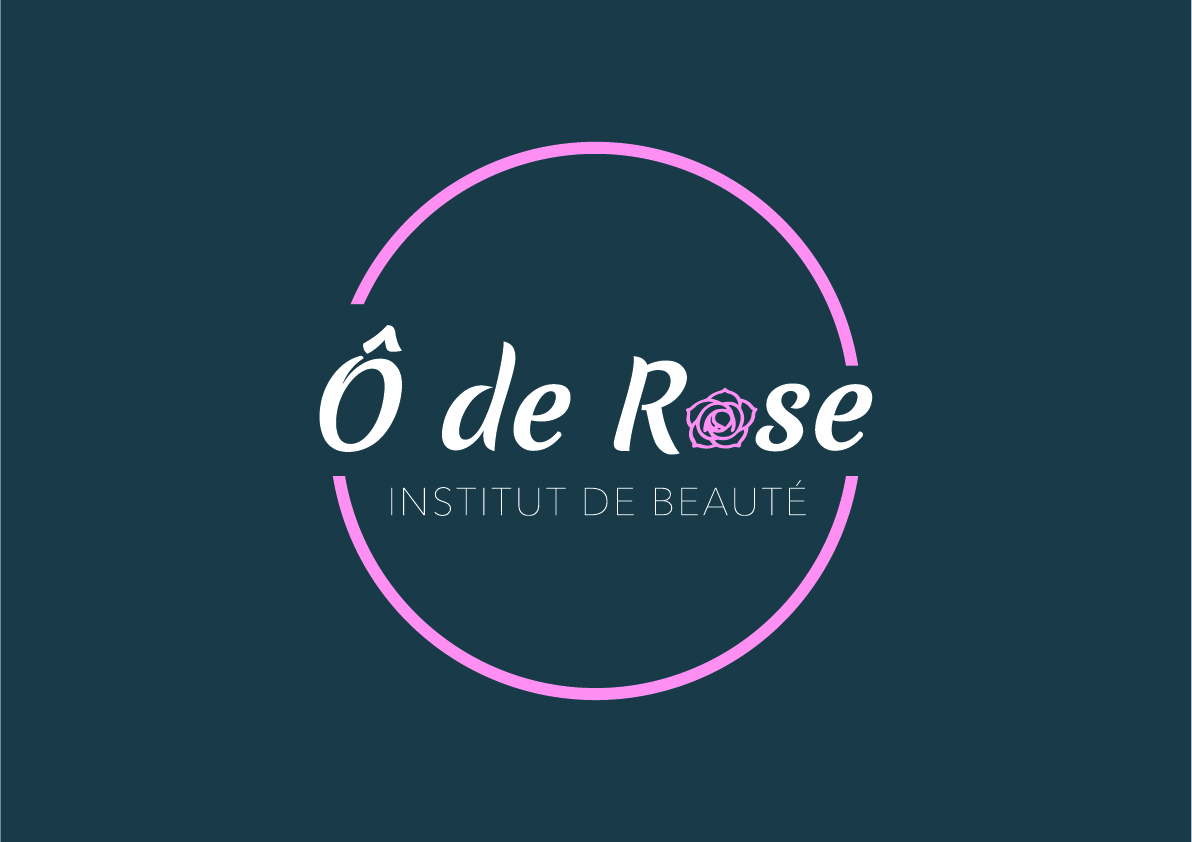 Logo de l'institut de beauté Ô de Rose à digne-les-bains florian pioli