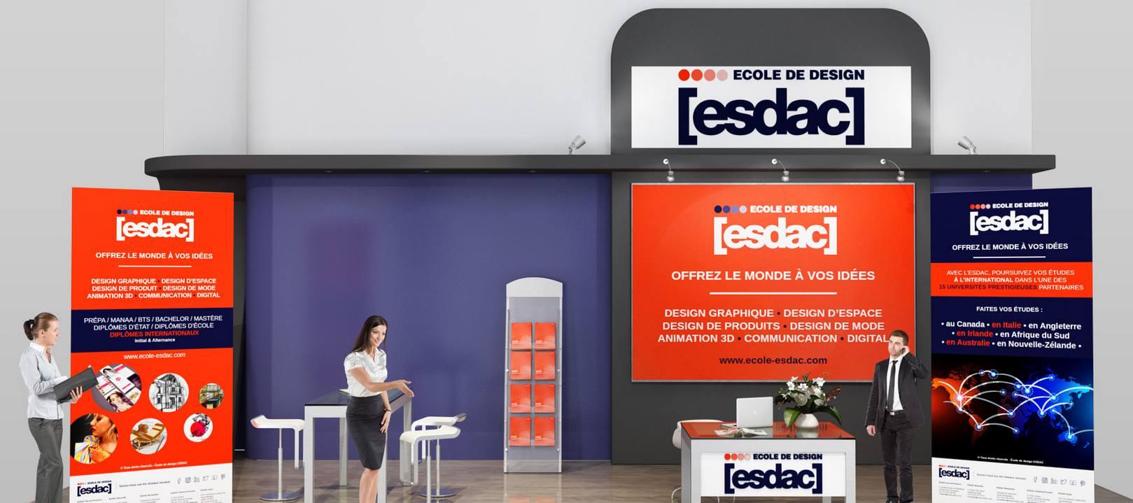 Salons étudiants de l'école de design ESDAC