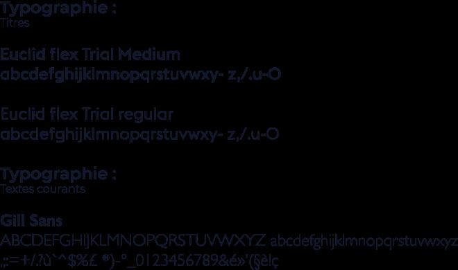 Charte typographique de l'ENDM