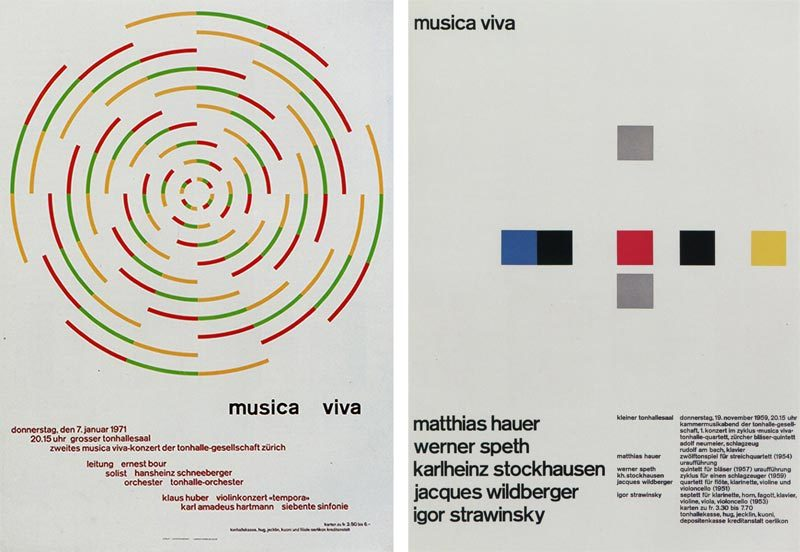 La grille typographique et la musique dans le design graphique JMB