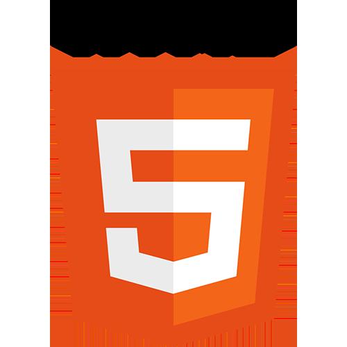 Logo du langage de programmation web HTML