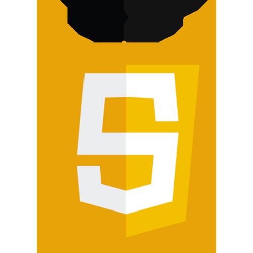 Logo du langage de programmation web JavaScript