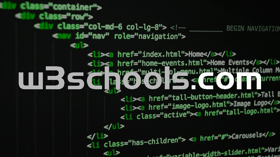 W3Schools : site Web dedié à l'apprentissage des technologies Web
