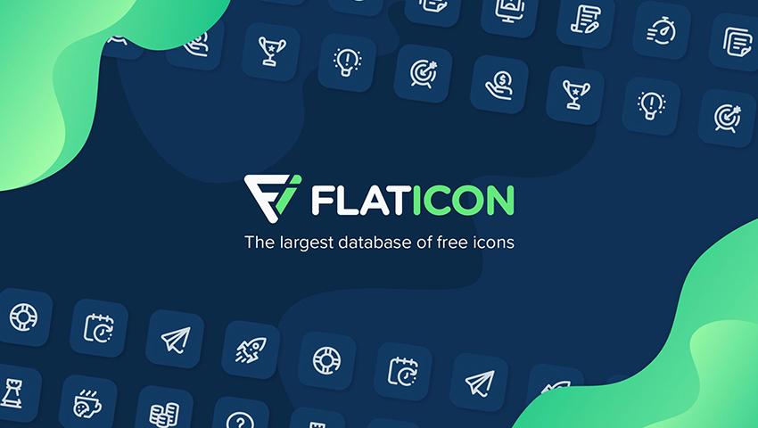 Flaticon banque pictographique pour le web design et le design graphique