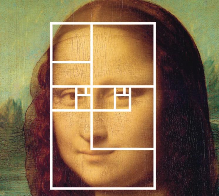 Mona lisa et la suite de fibonacci