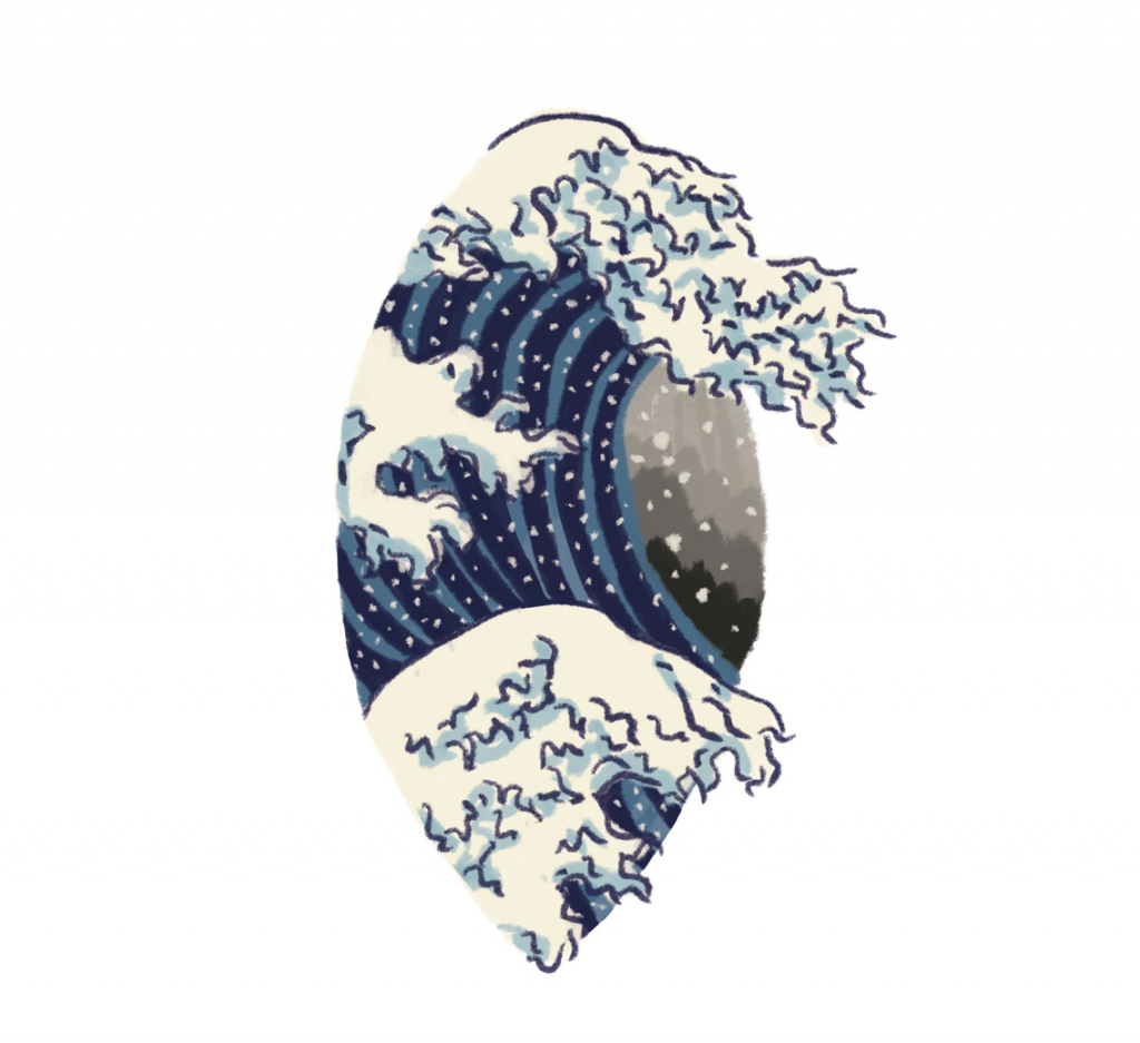 Hokusai, la vulve japonaise